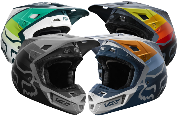 Fox - V2 Murc Helmet Crosshelm