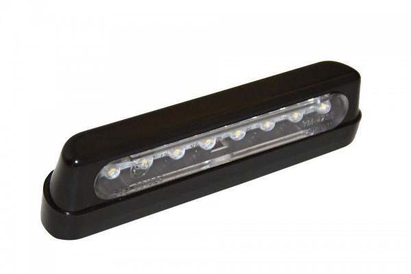 Shin Yo - LED-Nummernschildbeleuchtung, verschraubbar, schwarz