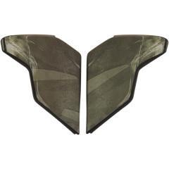 Icon - Airflite Battlescar 2 Sideplate Visierabdeckung Grün