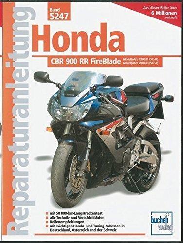 Reparaturanleitungen Honda CBR 900 RR FireBlade