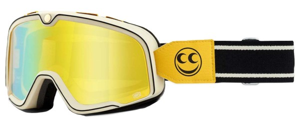 100% - Barstow See See Brille Gelb verspiegelt
