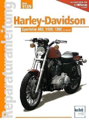 Reparaturanleitung Harley-Davidson Sportster 883, 1100, 1200