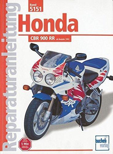 Reparaturanleitung Honda CBR 900 RR ab 1992