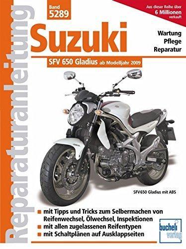 Reparaturanleitungen Suzuki Gladius 650 ccm