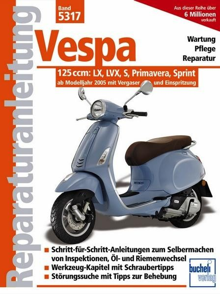 Reparaturanleitung Vespa 125 ccm
