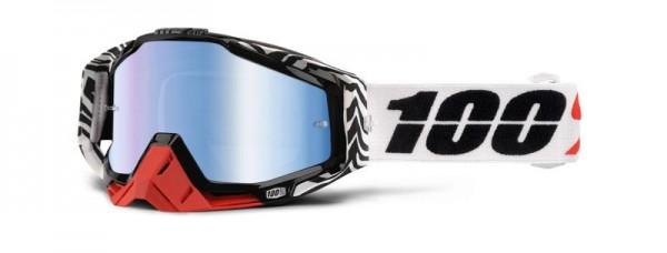 100% Racecraft Zoolander / Mirror Blue
