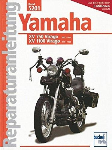 Reparaturanleitung Yamaha XV 750 Virago 92-97 / XV 1100 Virago 89-99