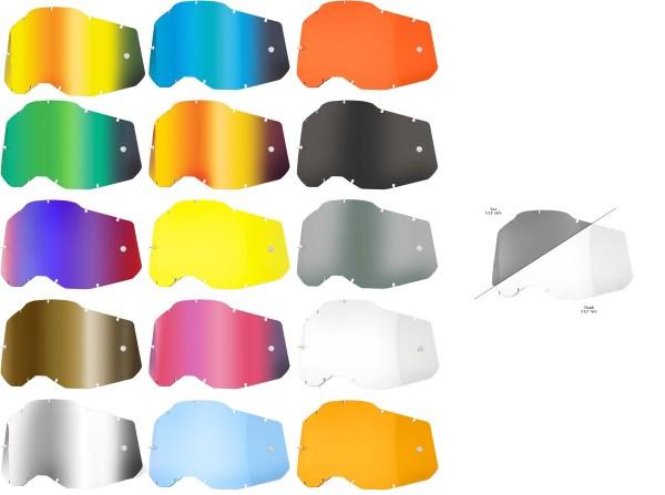 100% - Ersatzlinse für 100% Brillen Racecraft 2 / Accuri 2 / Strata 2