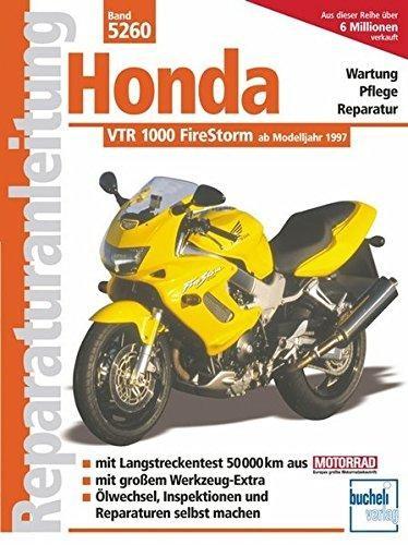 Reparaturanleitung Honda VTR 1000 FireStorm