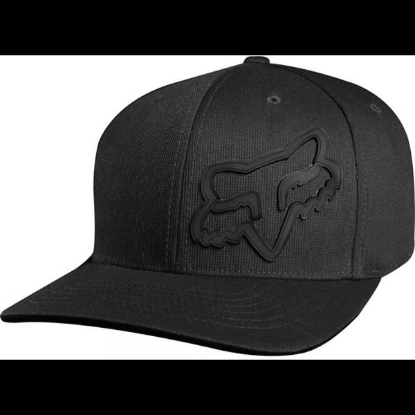 Fox - Signature Flexfit Hat / Cap Schwarz
