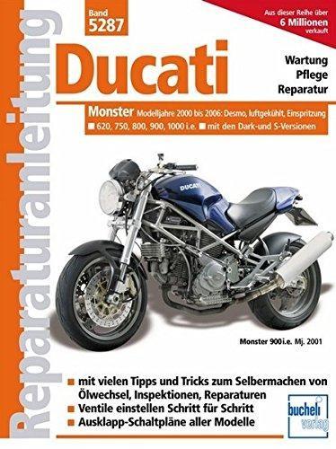Reparaturanleitung Ducati Monster ab 2000, Einspritzer, luftgekühlt