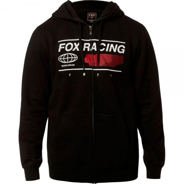 Fox - Global Zip Fleecepullover Schwarz