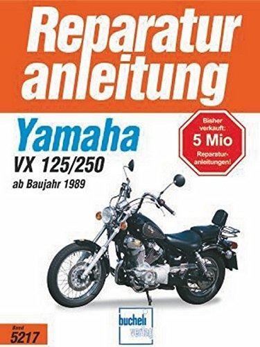Reparaturanleitung Yamaha XV 125/250 S (ab 1989)