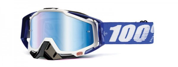 100% Racecraft Cobalt Blue / Mirror Blue