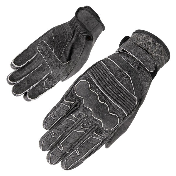 Orina - Highway Vintage Lederhandschuh Grau