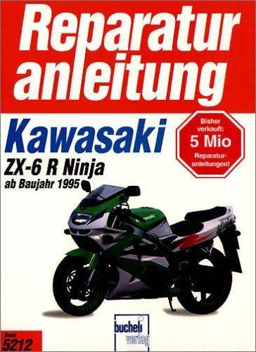 Reparaturanleitung Kawasaki ZX-6 R Ninja ab Baujahr 1995