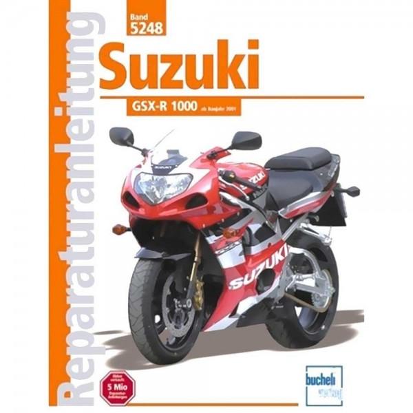 Reparaturanleitung Suzuki GSX-R 1000