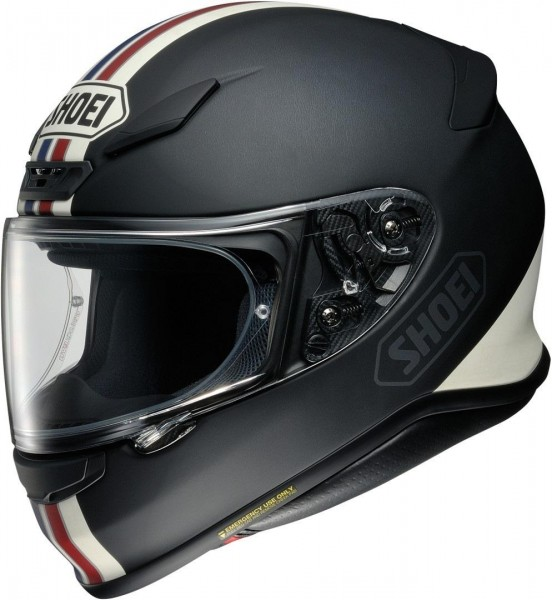 Shoei - NXR Equate Matt Integralhelm Schwarz / Weiß