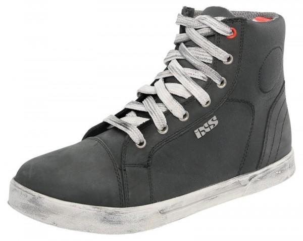 IXS Classic Sneaker Nubuk-Cotton - Schwarz