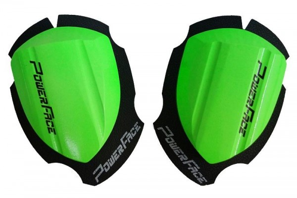 Power Face Knieschleifer Race Neongrün