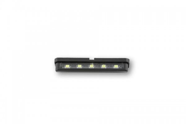 Shin Yo - LED-Nummernschildbeleuchtung ST-7, selbstklebend, schwarz