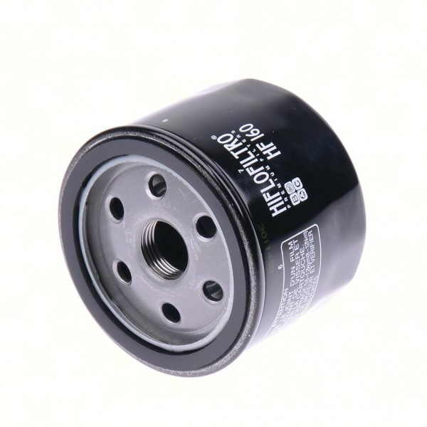 Ölfilter Hiflo HF160 Schwarz