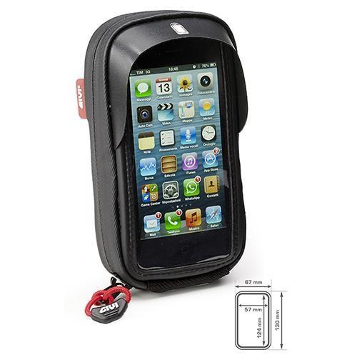 Givi - Smartphone Tasche inkl. Lenkerhalter - für I-Phone 5 / 5S