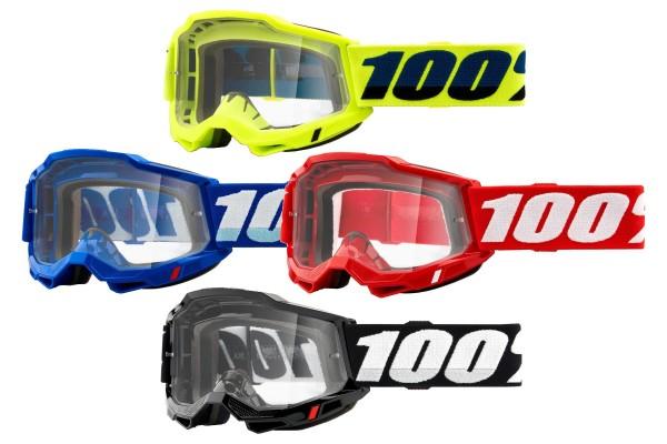 100% - Accuri 2 Crossbrille OTG klare Scheibe