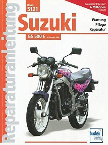 Reparaturanleitung Suzuki GS 500 E
