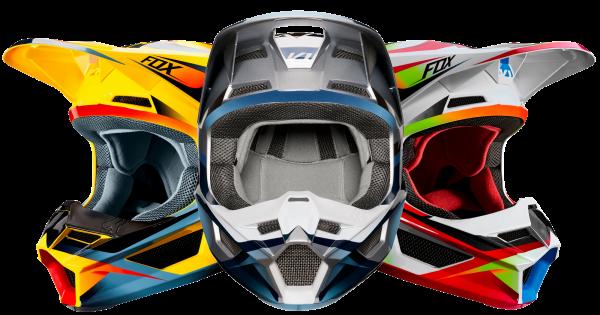 Fox - V1 Motif Cross - Helm