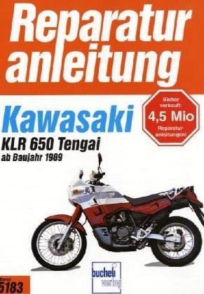 Reparaturanleitung Kawasaki KLR 600/650 Tengai ab 1989