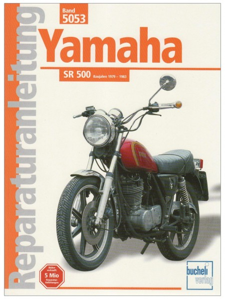 Reparaturanleitung Yamaha SR 500 1979-1983