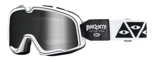 100% - Barstow Bonzorro Brille Silber verspiegelt