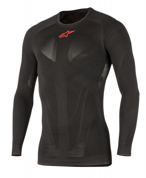 Alpinestars - Tech Top LS Summer Black / Red Funktionsshirt