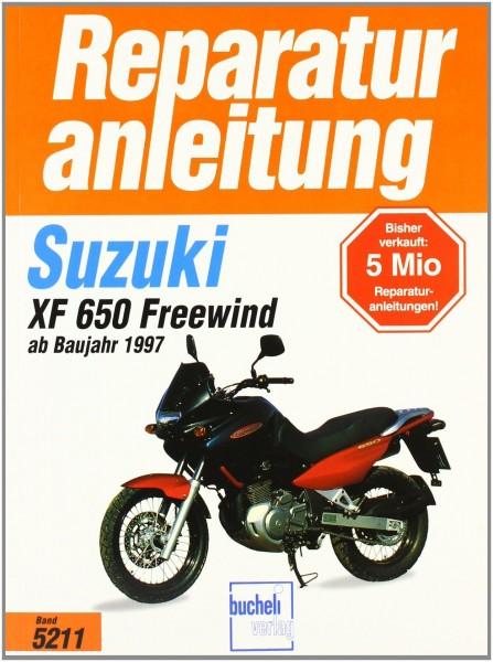 Reparaturanleitung Suzuki XF 650 Freewind