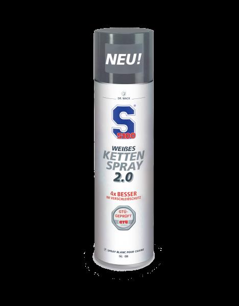 S100 - Weißes Kettenspray 2.0 400 ml