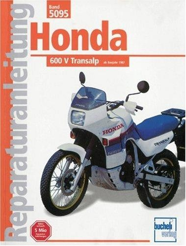 Reparaturanleitung Honda 600 V Transalp ab 1987