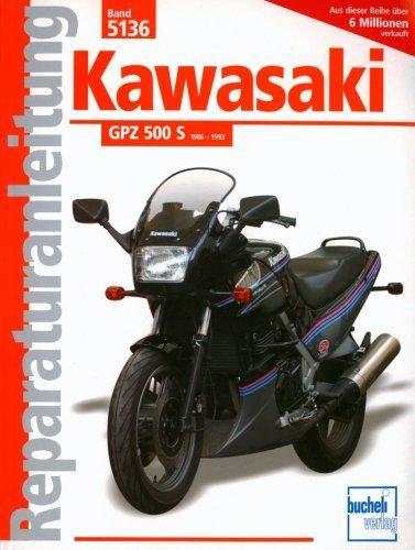 Reparaturanleitung Kawasaki GPZ 500 S 1986-1993