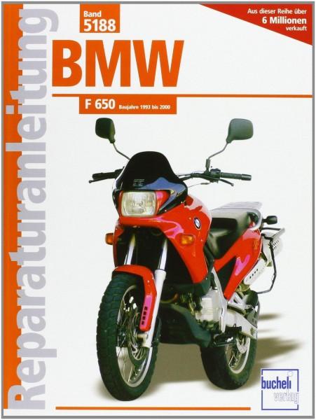 Reparaturanleitungen BMW F 650 Baujahre 1993 bis 2000