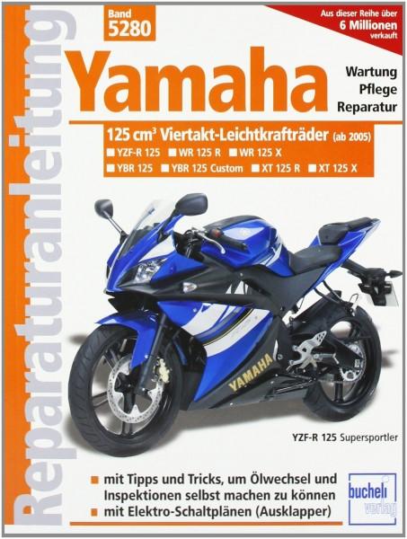 Reparaturanleitung Yamaha 125-ccm-Viertakt-Leichtkrafträder ab Modelljahr 2005