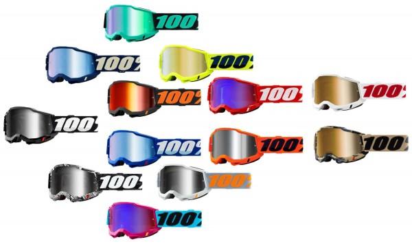 100% - Accuri 2 Crossbrille Verspiegelt