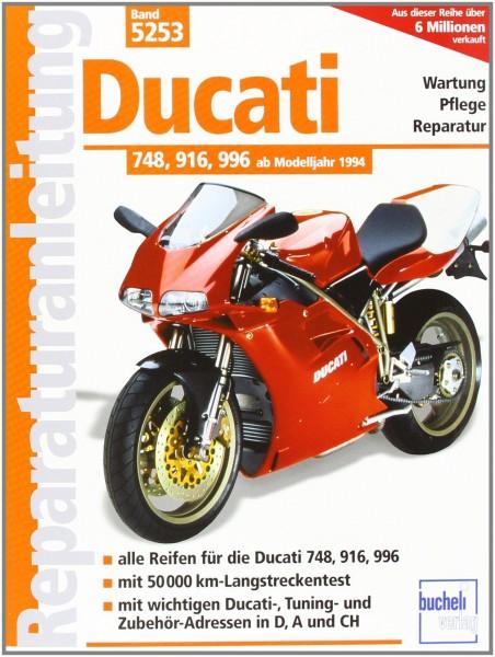 Reparaturanleitung Ducati 748, 916, 996
