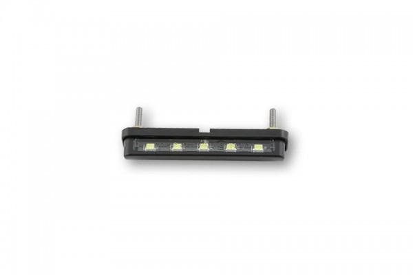 Shin Yo - LED-Nummernschildbeleuchtung ST-7, verschraubbar, schwarz