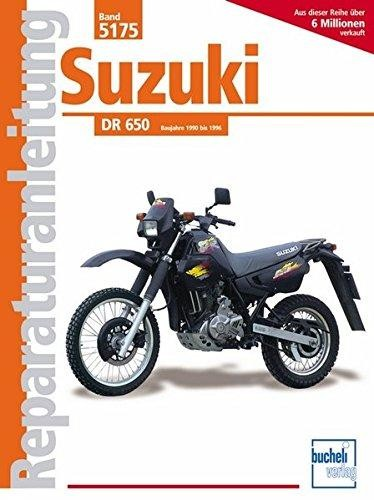 Reparaturanleitung Suzuki DR 650