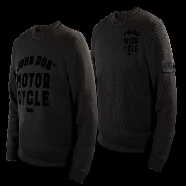 John Doe - Knit Pullover Roundneck Grau