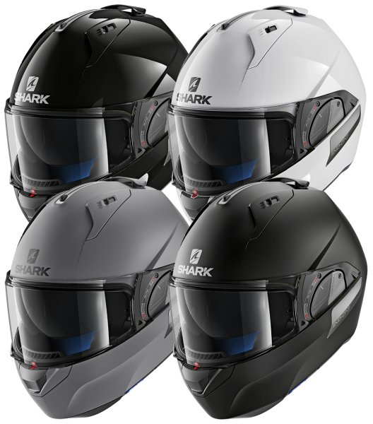 Shark - Evo - One 2 Blank - Klapp Helm