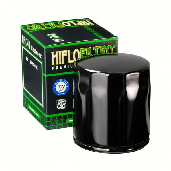 Ölfilter Hiflo HF174B Schwarz
