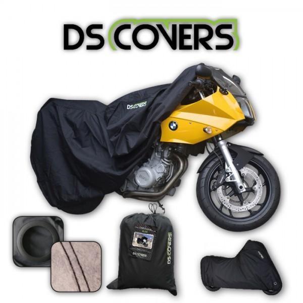 DS Covers - Alfa Motorrad Abdeckplane Schwarz