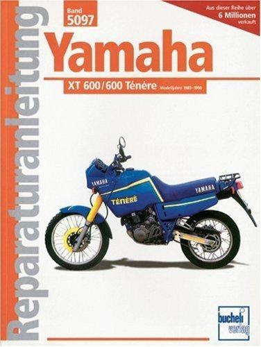 Reparaturanleitung Yamaha XT 600 / 600 Ténéré