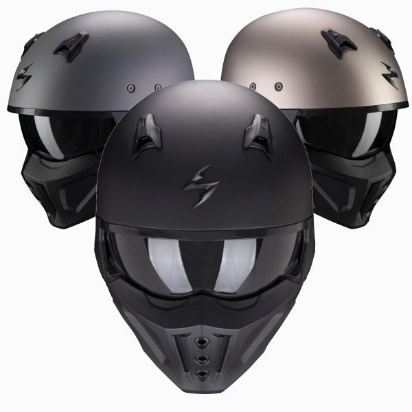 Scorpion - Covert-X Solid Jethelm Matt